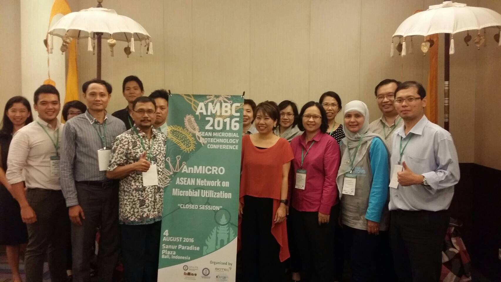 Thank you for all participants and organizing committee for putting together the successful events: the 3rd AnMicro meeting and AMBC2016